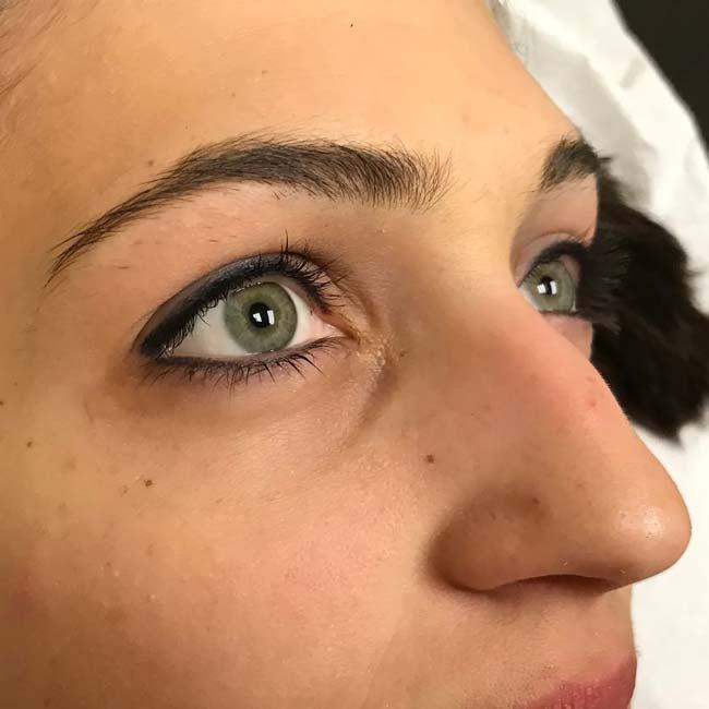 Permanent eyeliner offer